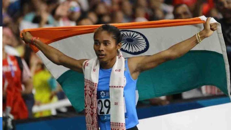 Hima Das Appointed As DSP By Government Of Assam