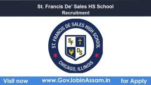 St. Francis De' Sales HS School Narengi Recruitment
