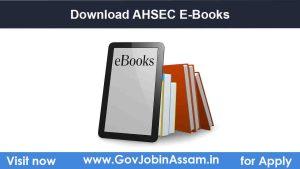 Download AHSEC E-Books