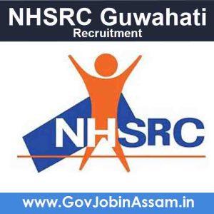 NHSRC Guwahati Recruitment 2021