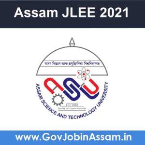Assam JLEE 2021