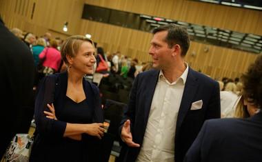 Dr. Tina Bergant in dr. Saša Bavec.