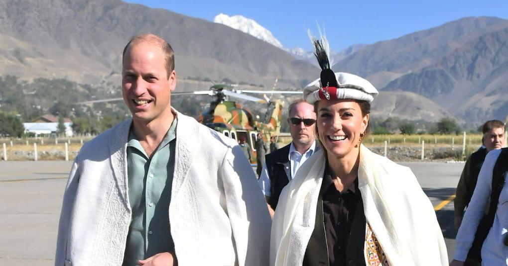 Kate Middleton se je v Pakistanu še enkrat ganljivo poklonila princesi Diani