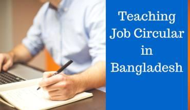 Teaching Job Circular in Bangladesh