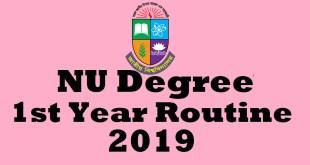 NU 1st Year Routine