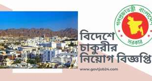 Foreign Job Circular in Oman