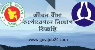 Jibon Bima Corporation Job Circular