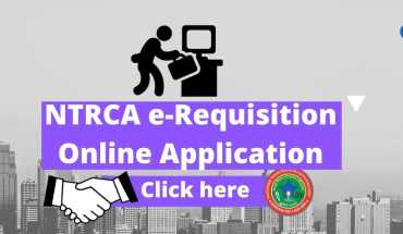 NTRCA e Requisition Online Application