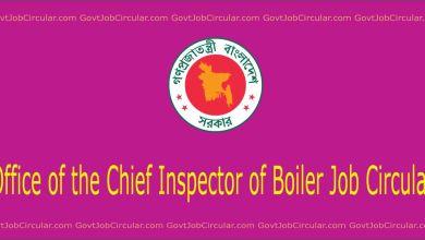 Boiler job circuar