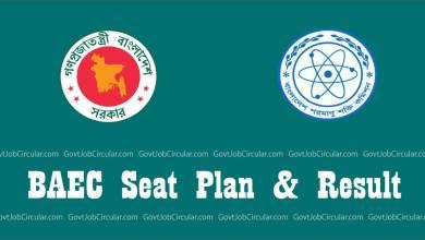BAEC seat plan