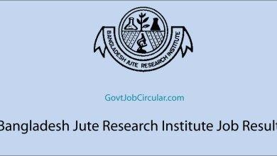 BJRI Job Result, Bangladesh Jute Research Institute Job Result, Job Exam Result, Job Results