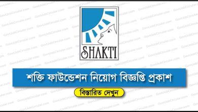 Shakti Foundation Job Circular