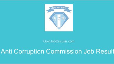 Anti Corruption Commission Viva Date, Anti Corruption Commission Job Result, Job Exam Result, Job Result, Job Results, ACC Job Result, ACC VIVA Date, VIVA Date