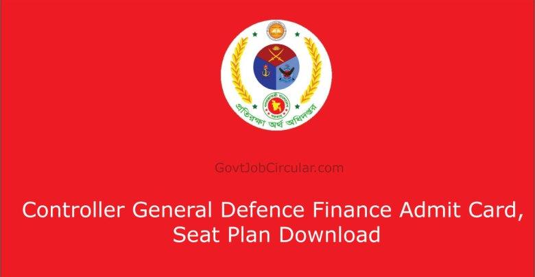 cgdf seat plan