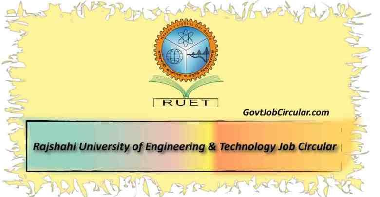 ruet job circular