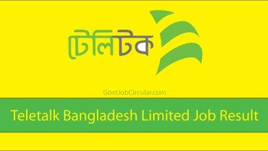 Teletalk Bangladesh Result