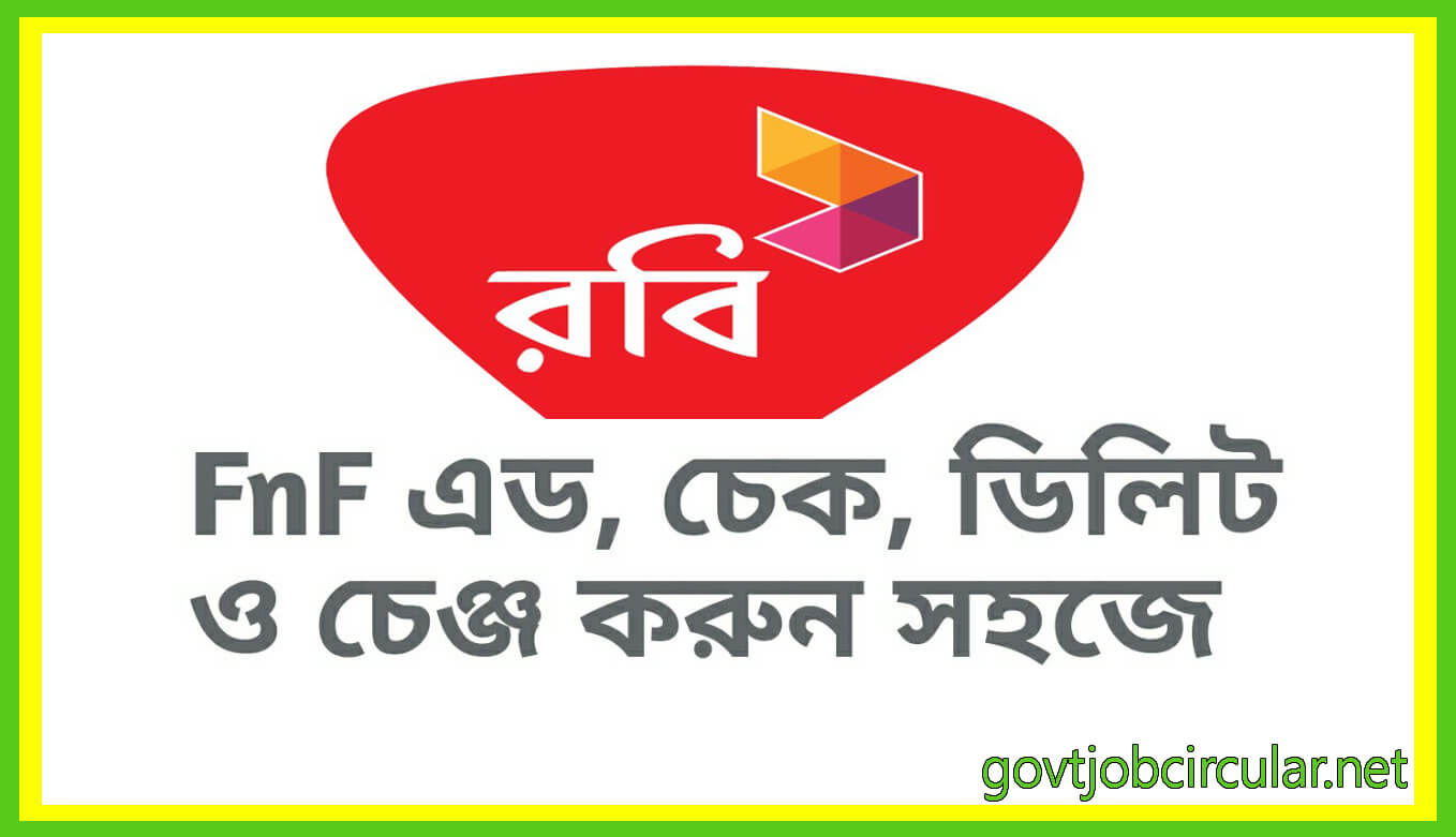 HOW TO CHECK ADD CHANGE DELETE FNF NUMBERS FOR ROBI USERS
