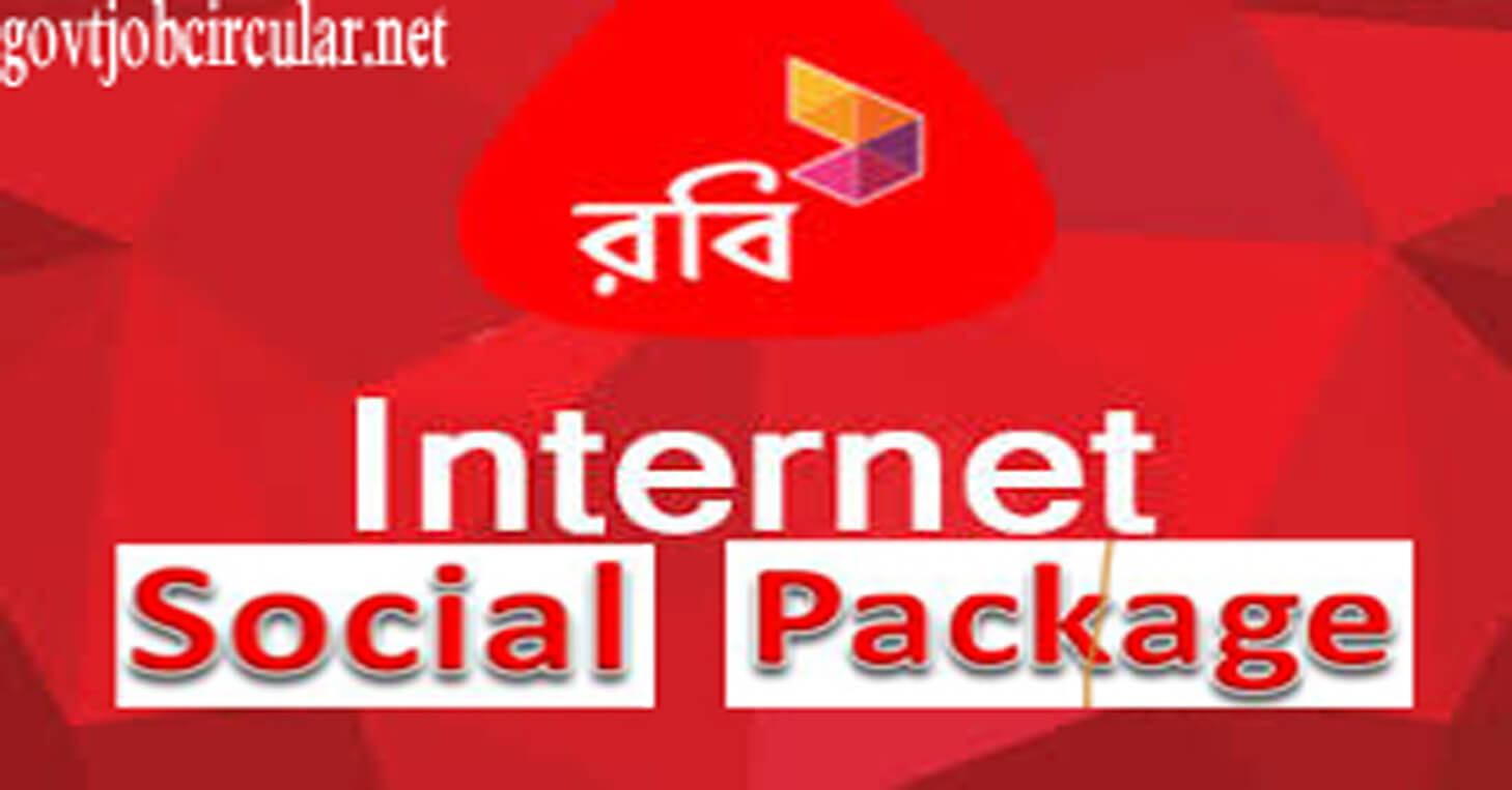 Robi Social Package 2020 Facebook, Whatsapp, Imo, Viber & Video pack