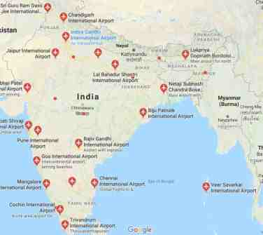 International Airports In India 2019 | List of International ...
