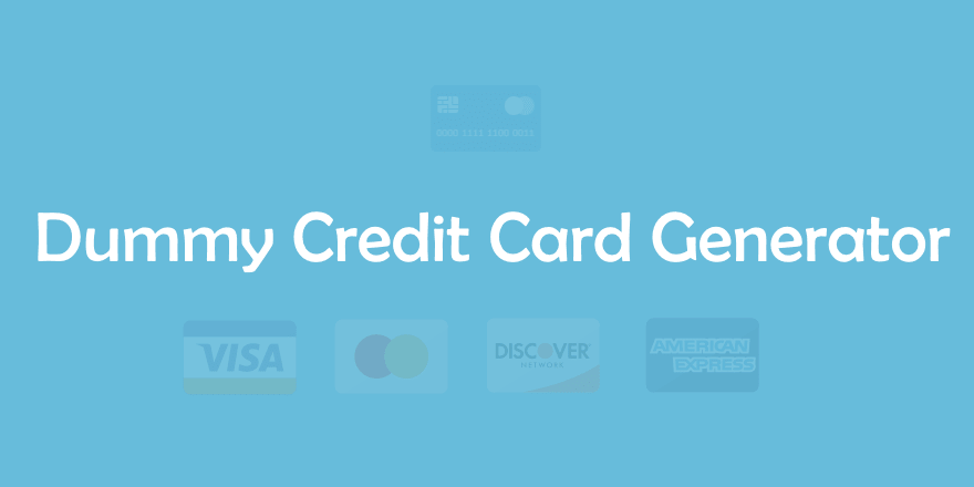 indian credit card generator with money