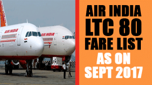 Air-India-LTC-80-Fare-List-as-on-20th-September-2017