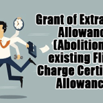 Grant of Extra Work Allowance