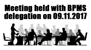 Meeting held with BPMS delegation