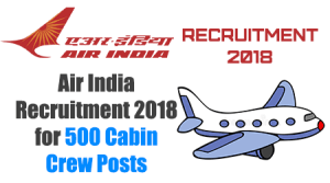 Air India Recruitment 2018