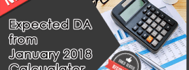 Expected DA from January 2019 Calculator