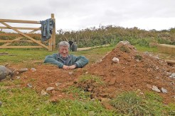 Dave in hole