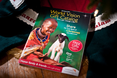 World Vision Christmas Catalog  (photo © 2010 Michael Gowin)
