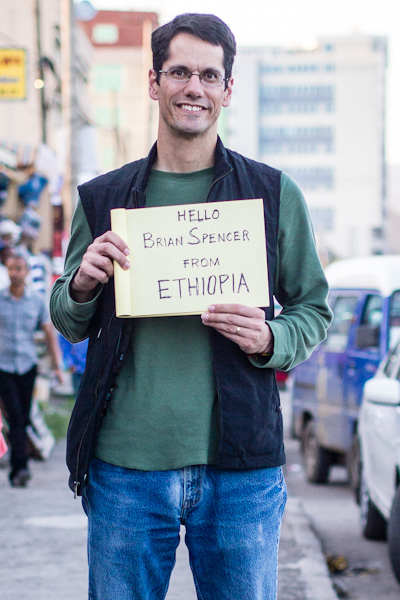 Hello Brian Spencer from Ethiopia - The Gowin Family