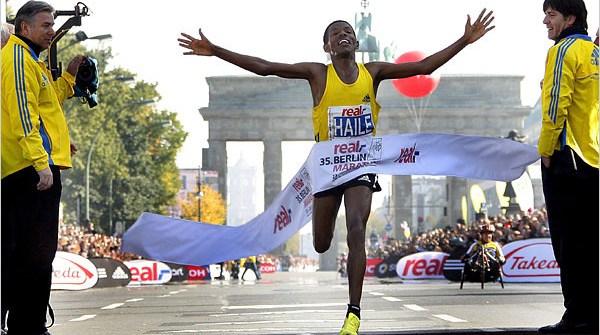 Marathon Finish Line