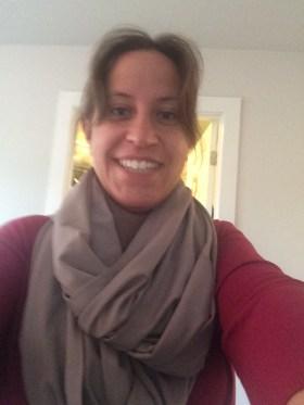 A scarf!