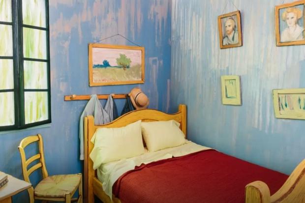 Schilderij Slaapkamer Van Gogh