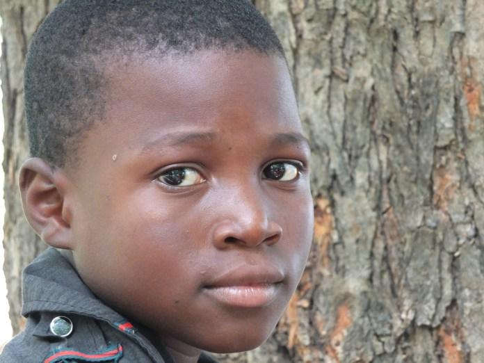 Chłopiec z Ghany