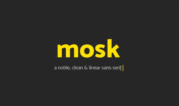 Mosk Font Family
