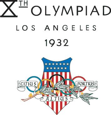 1932 ロサンゼルス五輪 ロゴ
