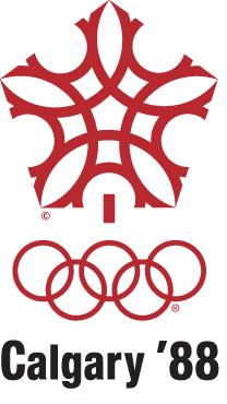 カルガリー五輪 1988年 冬 ロゴ