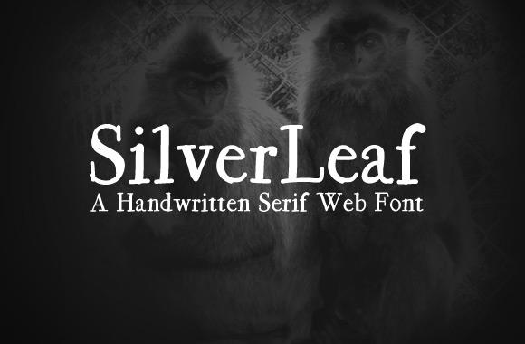 SilverLeaf Handwritten Serif