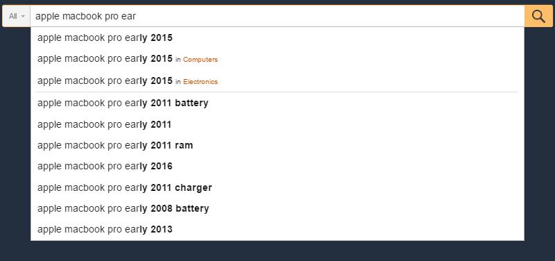 amazon検索ボックス