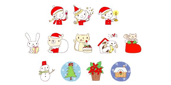 クリスマスや冬のイベントにおすすめのフリーイラスト素材15選