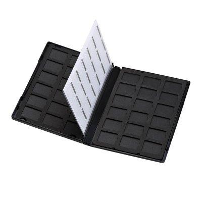 サンワサプライ DVDトールケース型SDカード管理ケース 36枚収納