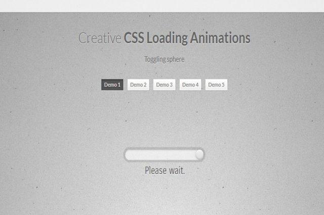 アニメーションを読み込むクリエイティブCSS