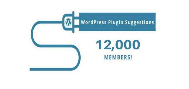 wordpress plugin suggestions group