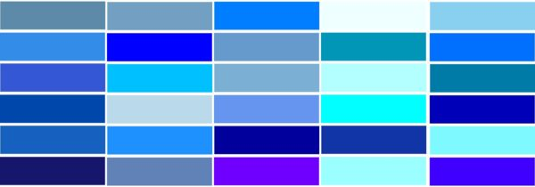 """青い色""""が企業やアプリのイメージカラーに採用される9つの理由 ..."""