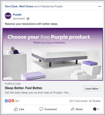Facebookの有料広告