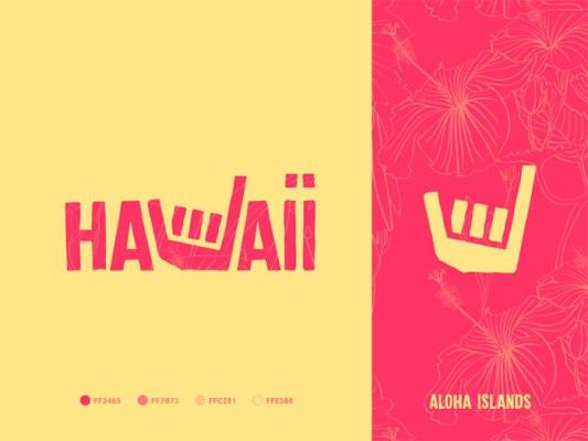 Hawaiiのロゴ