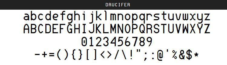 Drucifer Monospace