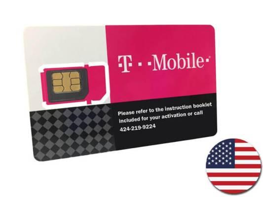 T-MobileプリペイドSIMカード